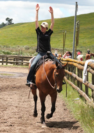 AQHA-NZ youth training programme